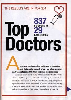 April 2011 Top Docs